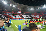 06.11.2019, BayArena, Leverkusen, Championsleague, Vorrunde, 4. Spieltag, GER, UEFA  CL, Bayer 04 Leverkusen (GER) vs. Atletiko Madrid (ESP),<br />  <br /> UEFA regulations prohibit any use of photographs as image sequences and/or quasi-video<br /> <br /> im Bild / picture shows: <br /> Choreo der Leverkusener<br /> <br /> Foto © nordphoto / Meuter<br /> <br /> <br /> <br /> Foto © nordphoto / Meuter