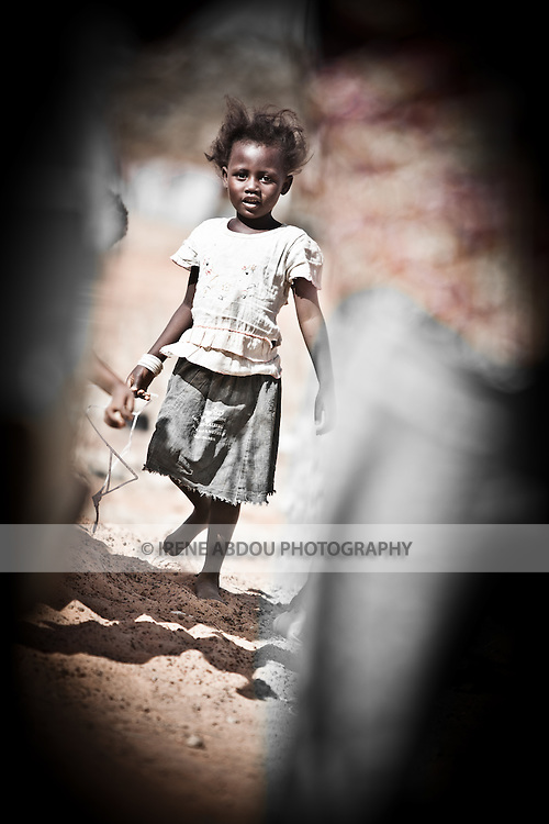 Fulani girl in the town of Djibo in northern Burkina Faso.