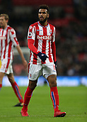9th December 2017, Wembley Stadium, London England; EPL Premier League football, Tottenham Hotspur versus Stoke City; Eric Maxim Choupo-Moting of Stoke City  looks on