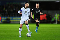 Matt Grimes of Swansea City in action during the Sky Bet Championship match between Swansea City and Charlton Athletic at the Liberty Stadium in Swansea, Wales, UK.  Thursday 02 January 2020