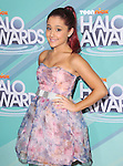 Ariana Grande at The 2011 TeenNick Halo Awards held at The Hollywood Palladium in Hollywood, California on October 26,2011                                                                               © 2011 Hollywood Press Agency