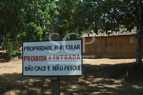 Pará State, Brazil. Brazil nut oil factory, Altamira.