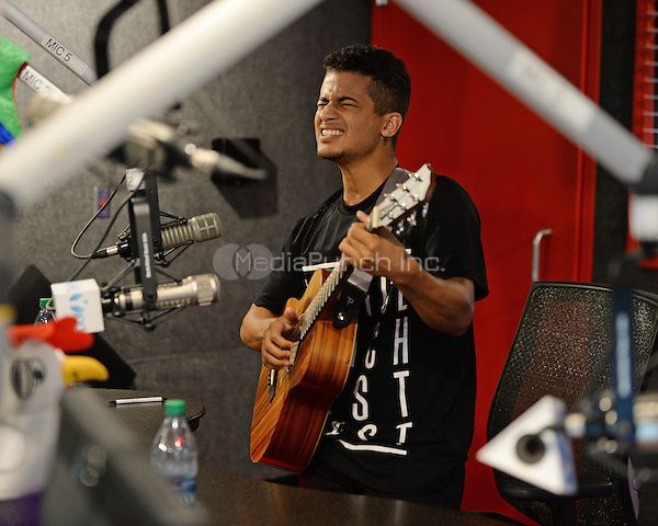 FORT LAUDERDALE, FL - JUNE 13: Jordan Fisher visits radio station Y-100 on June 13, 2016 in Fort Lauderdale, Florida. Credit: mpi04/MediaPunch