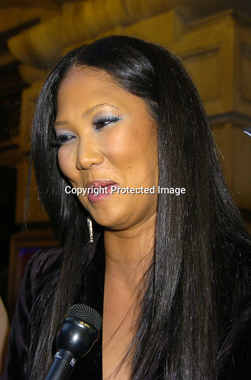 "Kimora Lee Simmons ..at The Broadway opening night of ""Steel Magnolias"" ..on April 4, 2005 at The Lyceum Theatre. ..Photo by Robin Platzer, Twin Images"