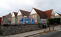 Pictured: Albert Primary School in Penarth, Wales, UK<br /> Re: A head teacher hanged himself after he found out that police were investigating him over allegations of possessing indecent images of children, an inquest has heard.<br /> The body of 51 year old Huw Jones, from Cardiff, was found in a churchyard in Lavernock, Vale of Glamorgan, in February.<br /> An inquest in Cardiff heard Mr Jones, who worked as a headmaster at Albert Primary School in Penarth, had been struggling with his sexuality.<br /> Coroner Philip Spinney concluded he took his own life.