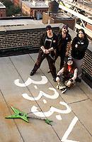 DIMEBAG DARREL ABBOTT - VINNIE PAUL - Damageplan;<br /> ex -Pantera Members (2005) <br /> Studio Portrait Session at Lightning Studios, In New York City
