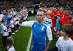 Fernando Ricksen walks out for his tribute match