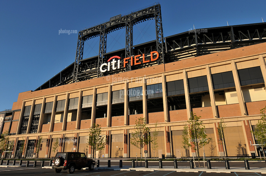 View of Citi Field, Home of the Mets, Flushing Queens New York City