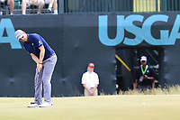 Bernd Wiesberger (AUT) takes his birdie putt on the 9th green during Saturday's Round 3 of the 117th U.S. Open Championship 2017 held at Erin Hills, Erin, Wisconsin, USA. 17th June 2017.<br /> Picture: Eoin Clarke | Golffile<br /> <br /> <br /> All photos usage must carry mandatory copyright credit (&copy; Golffile | Eoin Clarke)