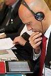 TURIN - ITALY - 22 NOVEMBER 2011 -- European Training Foundation (ETF) Governing Board Meeting -- Alberto Cutillo Ministro Plenipotenziario Direzione Generale Integrazione Europea Ministero degli Affari Esteri, Italia --  PHOTO: Alberto RAMELLA /  EUP-IMAGES