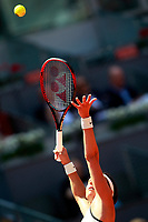 Caroline Garcia, France, during Madrid Open Tennis 2018 match. May 10, 2018.(ALTERPHOTOS/Acero) /NORTEPHOTOMEXICO