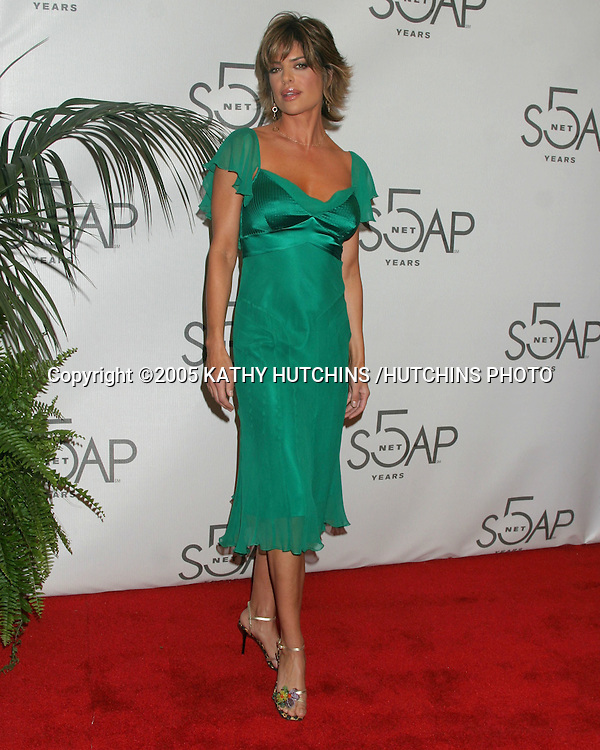 "©2005 KATHY HUTCHINS /HUTCHINS PHOTO.SOAPnet TOASTS ITS 5TH ANNIVERSARY.AT "" BLISS "" .LOS ANGELES, CA.JANUARY 25, 2005..LISA RINNA"