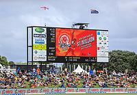 Black Caps v England, second international cricket ODI, Bay Oval, Tauranga, New Zealand. Wednesday, 28 February, 2018. Copyright photo: John Cowpland / www.photosport.nz