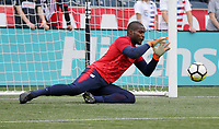 Chester, PA - Monday May 28, 2018: Bill Hamid during an international friendly match between the men's national teams of the United States (USA) and Bolivia (BOL) at Talen Energy Stadium.
