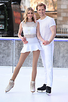 Donna Air &amp; Mark Hanretty at the &quot;Dancing on Ice&quot; launch photocall at the Natural History Museum, London, UK. <br /> 19 December  2017<br /> Picture: Steve Vas/Featureflash/SilverHub 0208 004 5359 sales@silverhubmedia.com