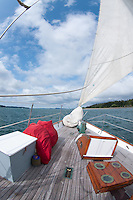 Sailing Aboard the Orion, San Juan Islands, Puget Sound, Washington