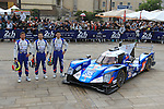 OFFICIAL PICTURE #35 BAXI DC RACING ALPINE (CHN) ALPINE A460 NISSAN LMP2 DAVID CHENG (USA) HO PIN TUNG (NLD) NELSON PANCIATICI (FRA)