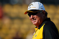 Jul 7, 2007; Hamilton, ON, CAN; Hamilton Tiger-Cats head coach Charlie Taaffe prior to the 2007 season home opener against the Toronto Argonauts at Ivor Wynne Stadium. The Argos defeated the Tiger-Cats 30-5. Mandatory Credit: Ron Scheffler, Special to the Spectator.
