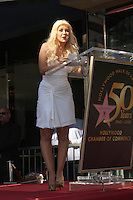 Aguilera Walk of Fame Star