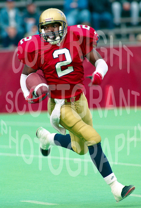 Horase Brooks Ottawa Rough Riders 1994. Photo F. Scott Grant