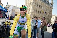 Simon Gerrans (AUS/Orica-GreenEDGE) relaxed at the start<br /> <br /> Brabantse Pijl 2014