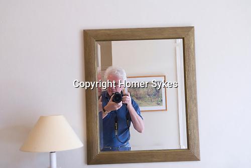 Homer Sykes Hay on Wye. B/B guest house.