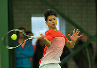 Rotterdam, The Netherlands, March 18, 2016,  TV Victoria, NOJK 14/18 years, Sidané Pontjodikromo (NED)<br /> Photo: Tennisimages/Henk Koster