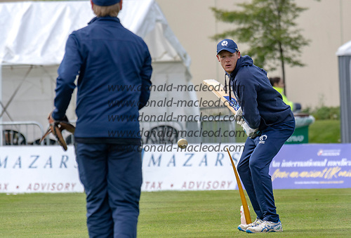 Scotland V Sri Lanka 2nd One Day International at Grange CC, Edinburgh - Michael Leask - picture by Donald MacLeod - 21.05.19 - 07702 319 738 - clanmacleod@btinternet.com - www.donald-macleod.com