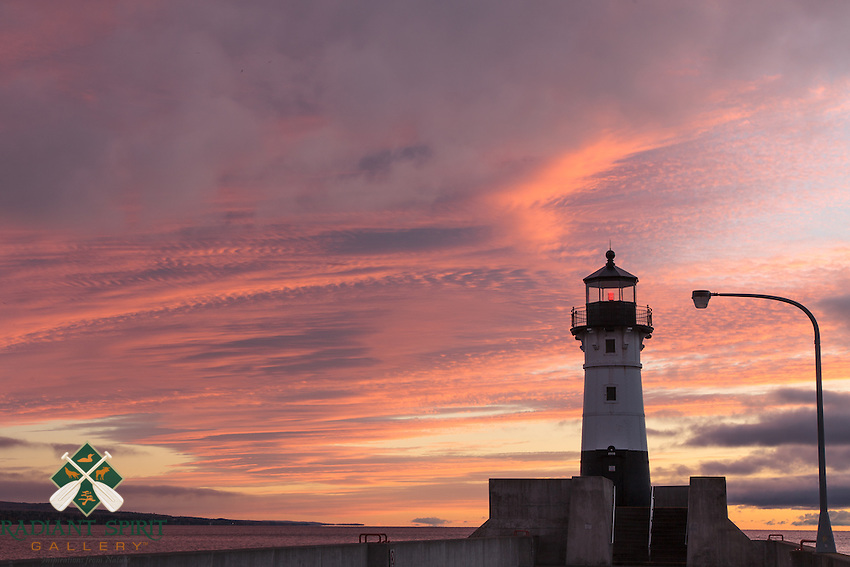 &quot;First Blush&quot;<br /> Nature painted the textured sky in pinks as the clouds parted for sunrise.