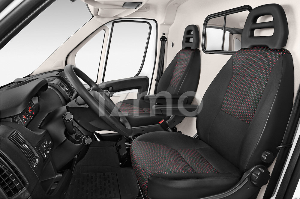 Front seat view of a 2015 Peugeot BOXER L4H2 4 Door Cargo Van Front Seat car photos