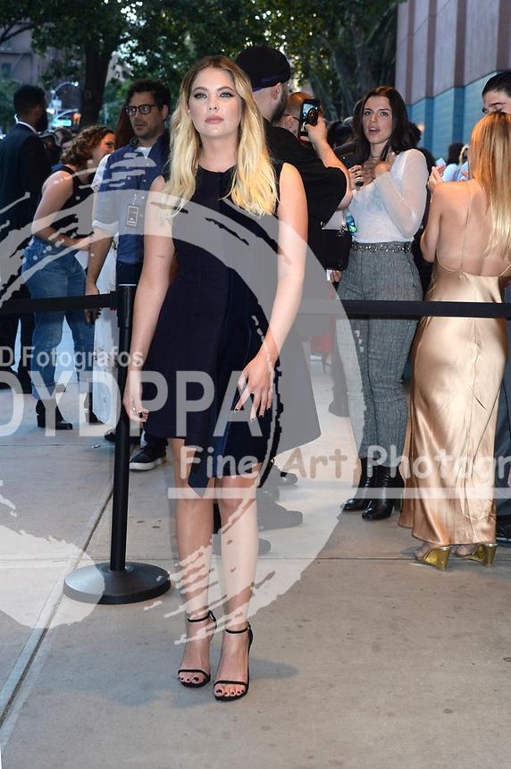 Ashley Benson bei der Premiere des Kinofilms 'Good Times' im SVA Theater. New York, 08.08.2017
