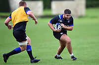 Will Vaughan of Bath Rugby in action. Bath Rugby pre-season training session on August 9, 2017 at Farleigh House in Bath, England. Photo by: Patrick Khachfe / Onside Images
