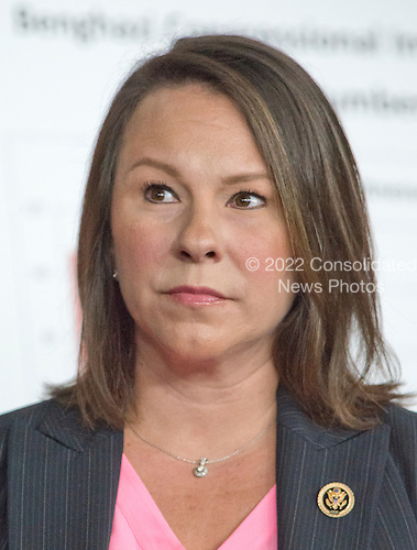 United States Representative Martha Roby (Republican of Alabama) one of the Republican members of the US House Select Committee on the Events Surrounding the 2012 Terrorist Attack in Benghazi, Libya, attends a press conference in the US Capitol in Washington, DC announcing the release of the committee report on Tuesday, June 28, 2016.  <br /> Credit: Ron Sachs / CNP