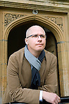 Aleksander Hemon at Christ Church during the Sunday Times Oxford Literary Festival, UK, 16 - 24 March 2013.<br />