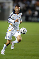 Los Angeles Galaxy David Beckham (23) during the SuperLiga finals between the Los Angeles Galaxy of MLS and CF Pachuca of FMF at the Home Depot Center, Carson, CA, on August 29, 2007. Pachuca wins 4-3 on penalty kicks after the game finished in a 1-1 tie.