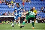 League Santander 2017-2018 - Game: 2<br /> RCD Espanyol vs CD Leganes: 0-1.<br /> Esteban Granero vs Joseba Zaldua.