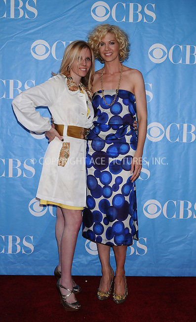 WWW.ACEPIXS.COM . . . . . ....May 20 2009, New York City....Producer Claudia Lanow and actress Jenna Elfman at the 2009 CBS Upfront at Terminal 5 in Manhattan on May 20, 2009 in New York City.....Please byline: AJ SOKALNER - ACEPIXS.COM.. . . . . . ..Ace Pictures, Inc:  ..tel: (212) 243 8787 or (646) 769 0430..e-mail: info@acepixs.com..web: http://www.acepixs.com