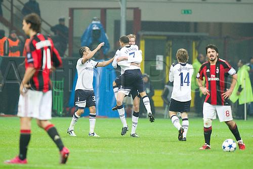 15.02.2011 Champions League, San Siro Meazza Stadium, Milan, Italy. AC Milan v Tottenham Hotspur, 0-1.