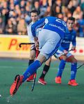 UTRECHT - Derck de Vilder (Kampong)    tijdens de hoofdklasse hockeywedstrijd mannen, Kampong-Amsterdam (4-3). COPYRIGHT KOEN SUYK