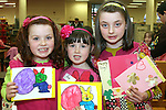 Olivia Smith, Áine O'Brien and Rachel Smith at the Card Making Workshop in The Library...Photo NEWSFILE/Jenny Matthews.(Photo credit should read Jenny Matthews/NEWSFILE)....This Picture has been sent you under the condtions enclosed by:.Newsfile Ltd..The Studio,.Millmount Abbey,.Drogheda,.Co Meath..Ireland..Tel: +353(0)41-9871240.Fax: +353(0)41-9871260.GSM: +353(0)86-2500958.email: pictures@newsfile.ie.www.newsfile.ie.FTP: 193.120.102.198.