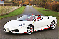 BNPS.co.uk (01202 558833)<br /> Pic: H&amp;H/BNPS<br /> <br /> 2012 Ferrari F430 F1 Spider with only 400 miles on the clock - &pound;120,000<br /> <br /> The &pound;1,000,000 garage sale... a stunning collection of luxury cars seized from the personal collection of a Middle Eastern sheikh has emerged. <br /> <br /> The impressive fleet, comprising Ferrari, Rolls-Royce and Bentley motors, has arrived at auction following a high court ruling against their former owner.<br /> <br /> Due to their unusual history many of the cars, all of which were UK based and have unusually low mileages, are being offered at a bargain price.