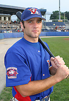 August 15, 2003:  Brad Ditter of the Vermont Expos during a game at Dwyer Stadium in Batavia, New York.  Photo by:  Mike Janes/Four Seam Images