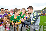 Paul Geaney Kerry Senior footballers at Kerry GAA family day at Fitzgerald Stadium on Saturday.