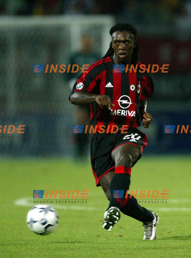 Ancona 12/08/2003<br /> Trofeo Tim - Tim Cup <br /> Clarence Seedorf Milan