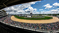 LOUISVILLE, KY - MAY 06: The track on Kentucky Derby Day at Churchill Downs on May 6, 2017 in Louisville, Kentucky. (Photo by Jesse Caris/Eclipse Sportswire/Getty Images)