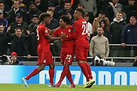Serge Gnabry of Bayern Munich celebrates scoring the sixth goal during Tottenham Hotspur vs FC Bayern Munich, UEFA Champions League Football at Tottenham Hotspur Stadium on 1st October 2019