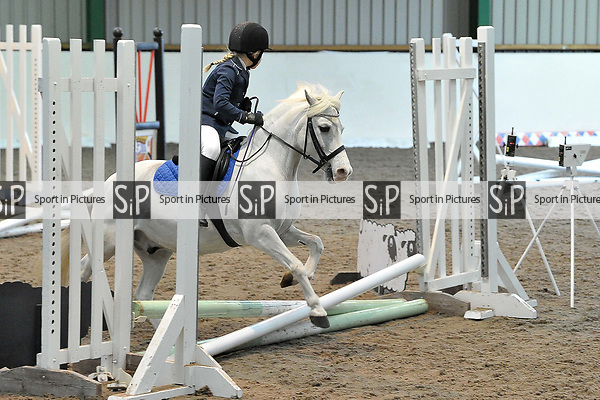 Class 1. Unaffiliated showjumping. Brook Farm Training Centre. Essex. UK. 06/01/2019. ~ MANDATORY Credit Garry Bowden/Sportinpictures - NO UNAUTHORISED USE - 07837 394578