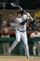 Salt River Rafters outfielder Tim Wheeler (14), of the Colorado Rockies organization, during an Arizona Fall League game against the Scottsdale Scorpions on October 9, 2013 at Scottsdale Stadium in Scottsdale, Arizona.  Salt River defeated Scottsdale 12-2.  (Mike Janes/Four Seam Images)