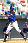 15 March 2006: Lastings Milledge, outfielder for the New York Mets, at bat during a Spring Training game against the Washington Nationals. The Mets defeated the Nationals 8-5 at Space Coast Stadium, in Viera, Florida...Mandatory Photo Credit: Ed Wolfstein..