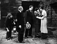 Frankenstein (1931) <br /> Dwight Frye, Edward Van Sloan, John Boles, Mae Clarke &amp; Colin Clive<br /> *Filmstill - Editorial Use Only*<br /> CAP/KFS<br /> Image supplied by Capital Pictures